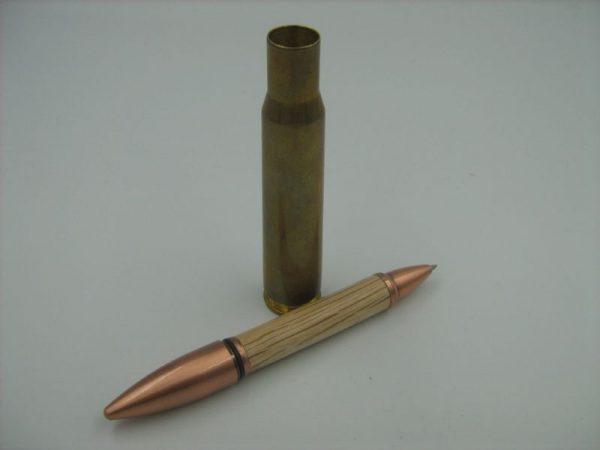 50 Cal Evergreen Oak Rollerball Pen