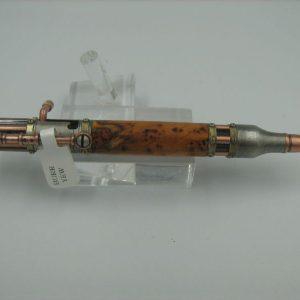 Steampunk Gatling Gun ballpoint pen