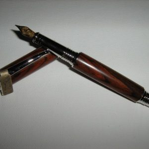King Cocobolo Fountain Pen