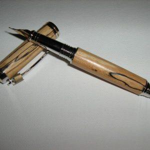 Spalted Beech Fountain Pen