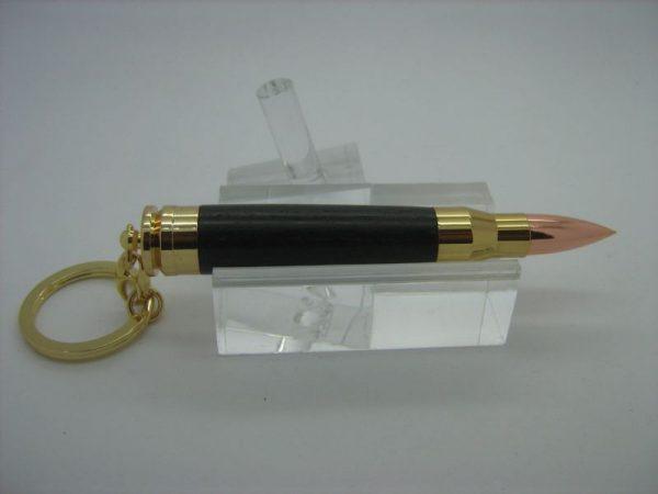 Bog Oak Bullet Toothpick Holder
