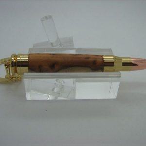 Burr Yew Bullet Toothpick Holder