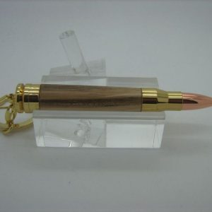 Olive Ash Bullet Toothpick Holder