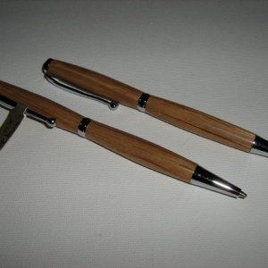 Jack Daniels Cask Slimline Pen and Pencil